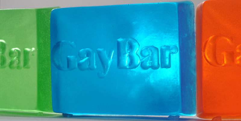 Gay Bar Glycerin Soap